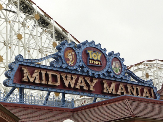 Toy Story Midway Mania, Disney California Adventure